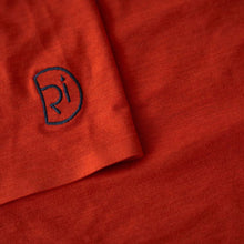 Load image into Gallery viewer, Rivelo Cresswell Merino Tech Tee - Burnt Orange
