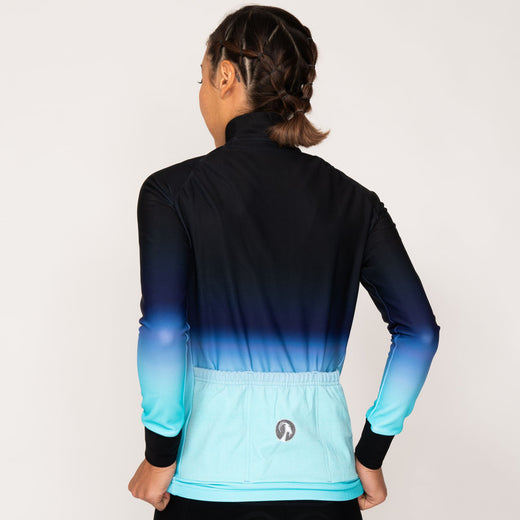 Stolen Goat Orkaan Everyday Long Sleeve Jersey - Ayoki Blue