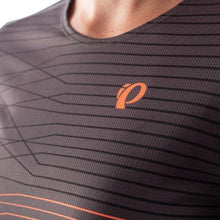Load image into Gallery viewer, Pearl Izumi Launch Jersey - Phantom/Fiery Coral Frequency