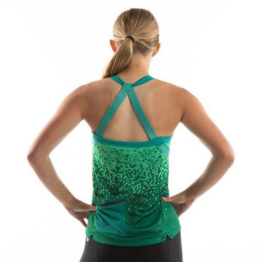 Pearl Izumi Sugar Sleeveless Jersey - Malachite/Alpine Green Hex