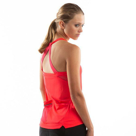 Pearl Izumi Sugar Sleeveless Jersey - Atomic Red