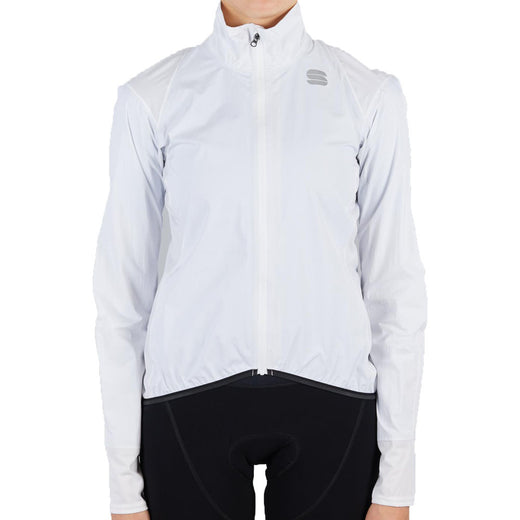Sportful Hot Pack NoRain Women's Jacket - White | VeloVixen