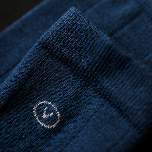 Vulpine Mid Cotton-Cashmere Socks - Petrol