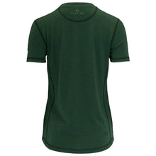 Load image into Gallery viewer, Vulpine Merino V Neck Tee - Forest Green