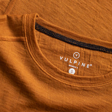 Load image into Gallery viewer, Vulpine Merino Crew Tee - Mustard
