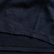 Load image into Gallery viewer, Vulpine Merino Crew Tee - Classic Navy