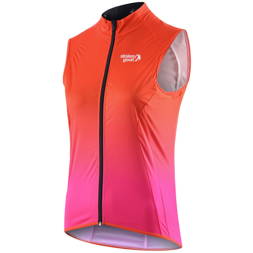 Stolen Goat Bodyline Core Cycling Gilet - Rise Pink