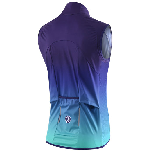 Stolen Goat Bodyline Core Cycling Gilet - Rise Blue
