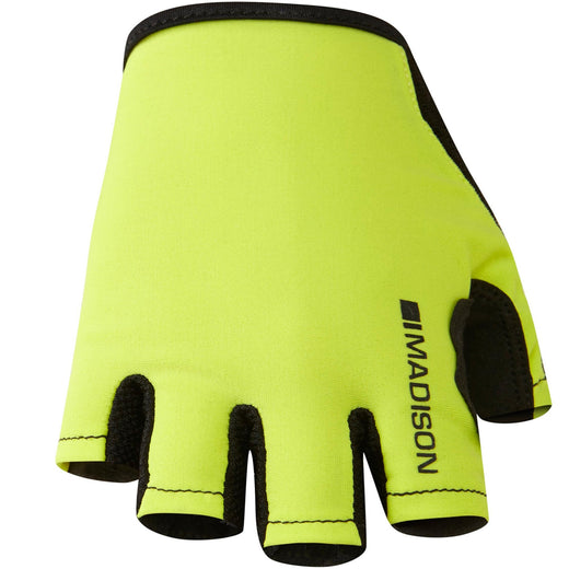 Madison Track Mitts - Hi Viz Yellow