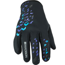Load image into Gallery viewer, Madison Element Softshell Gloves - Black/Purple Reign | VeloVixen