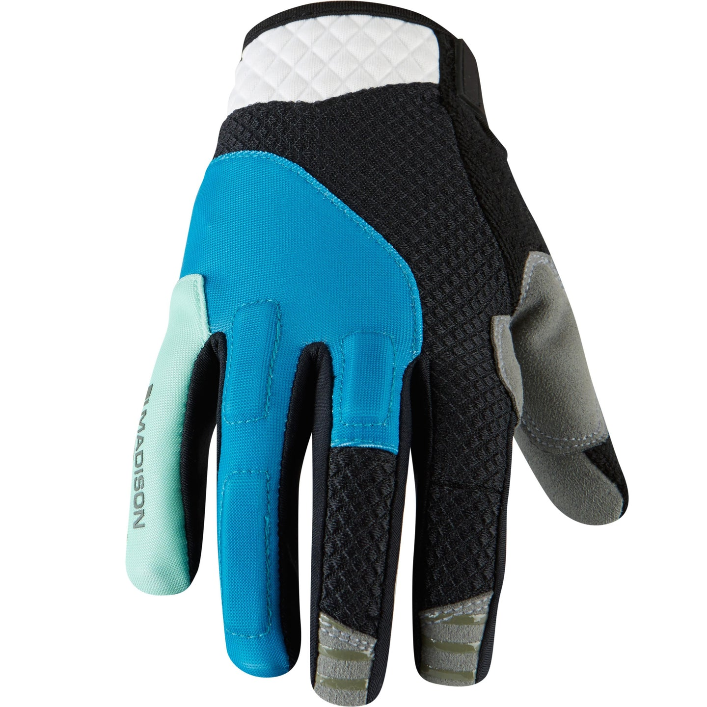 Madison Zena women's gloves, caribbean blue / sea green | VeloVixen