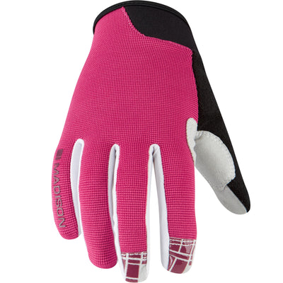Madison Leia women's gloves, rose red