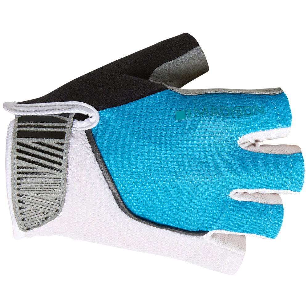 Madison Sportive women's mitts, blue curaco | VeloVixen