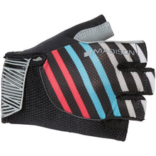 Load image into Gallery viewer, Madison Sportive women's mitts, stripes black / blue / pink | VeloVixen