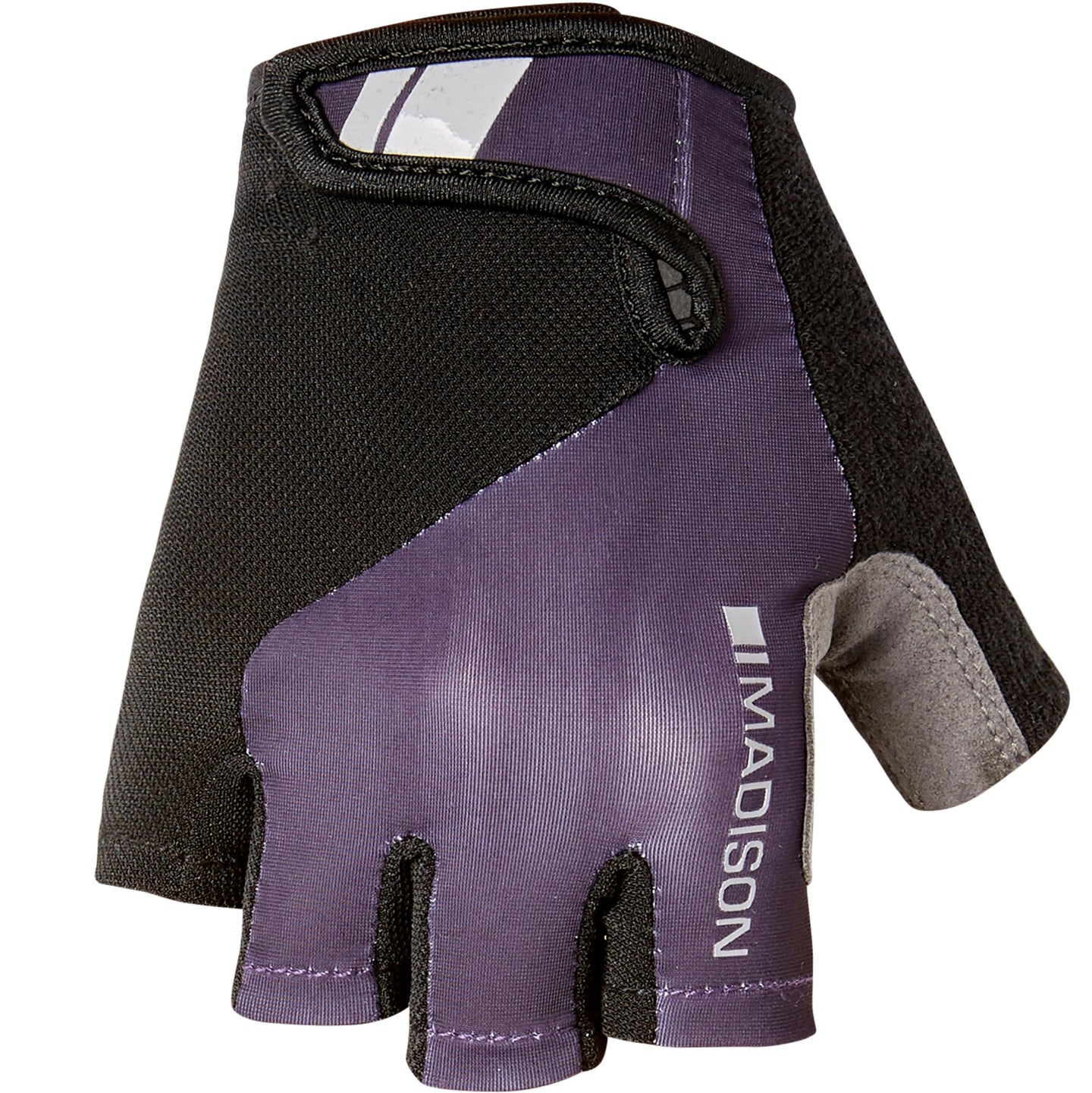 Madison Keirin women's mitts, purple velvet | VeloVixen