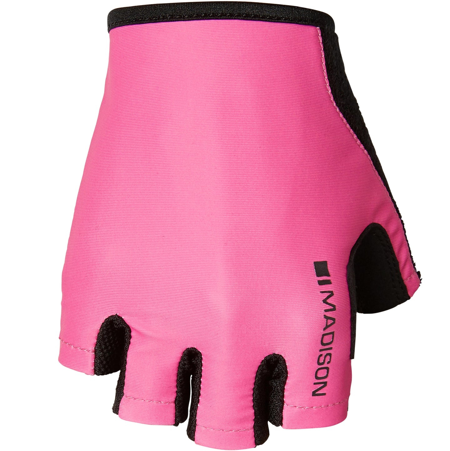 Madison Track women's mitts, pink glo | VeloVixen