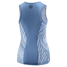 Load image into Gallery viewer, womens cycling base layer Katusha blue