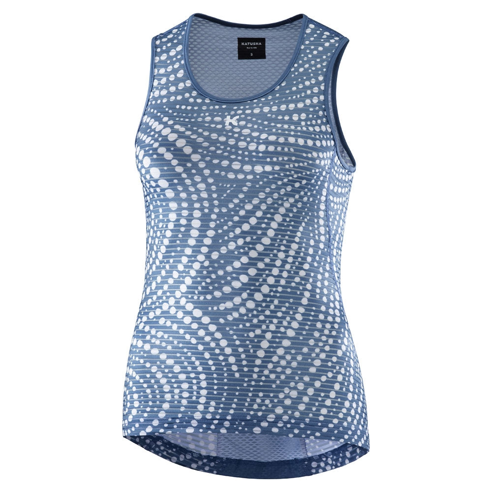 Katusha Allure Sleeveless Baselayer - Native Stellar | VeloVixen