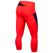 Load image into Gallery viewer, Pearl Izumi Wander Crop - Atomic Red/Navy