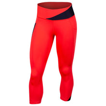 Load image into Gallery viewer, Pearl Izumi Wander Crop - Atomic Red/Navy | VeloVixen