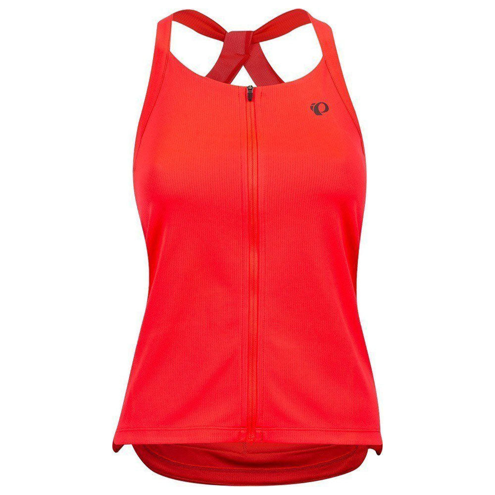 Pearl Izumi Sugar Sleeveless Jersey - Atomic Red | VeloVixen