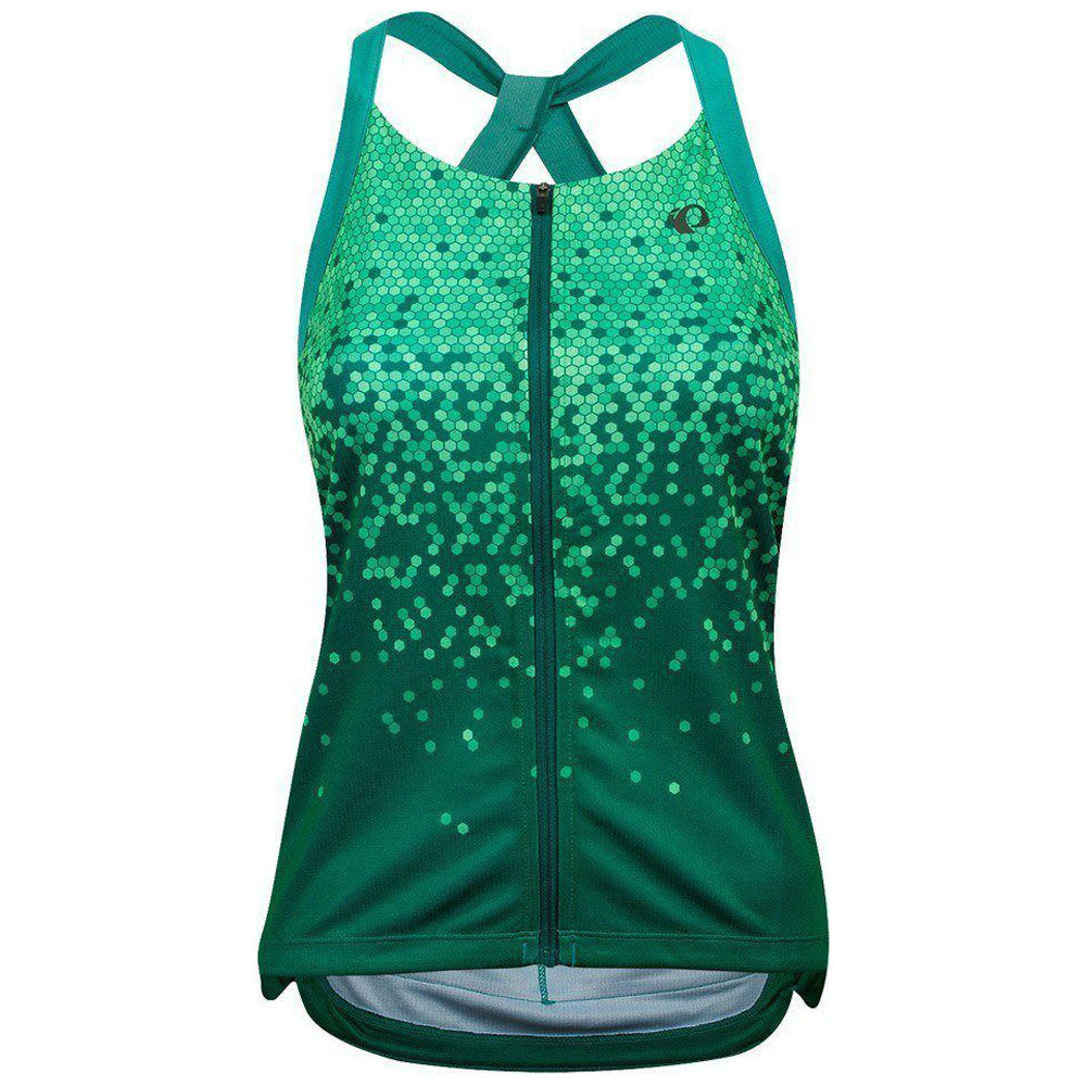 Pearl Izumi Sugar Sleeveless Jersey - Malachite/Alpine Green Hex | VeloVixen