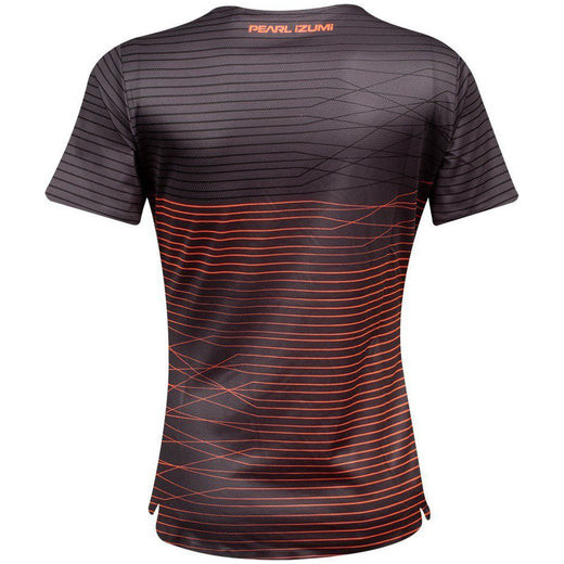 Pearl Izumi Launch Jersey - Phantom/Fiery Coral Frequency