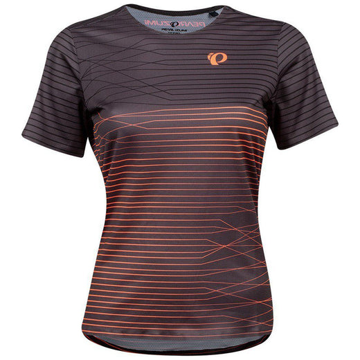 Pearl Izumi Launch Jersey - Phantom/Fiery Coral Frequency | VeloVixen