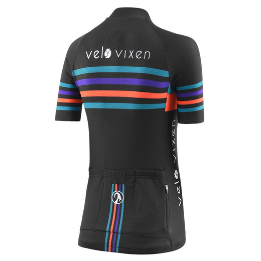 VeloVixen Stripe Cycling Jersey with Stolen Goat - Limited Edition