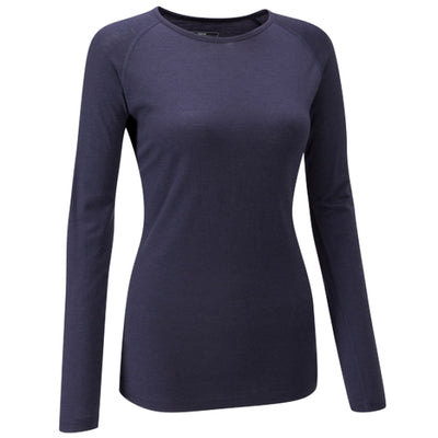 Chapeau! Merino Long Sleeve Base Layer - Deep Ocean