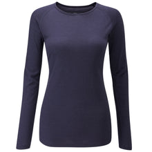 Load image into Gallery viewer, Chapeau! Merino Long Sleeve Base Layer - Deep Ocean