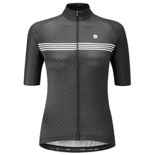 Load image into Gallery viewer, Chapeau! Madeleine Polka Stripe Jersey - Rich Black | VeloVixen