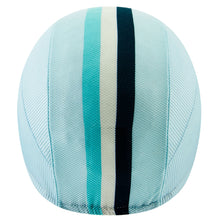 Load image into Gallery viewer, Chapeau! Lightweight Cap Club Stripe - Aqua