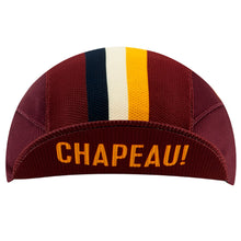 Load image into Gallery viewer, Chapeau! Lightweight Cap Club Stripe - Aubergine