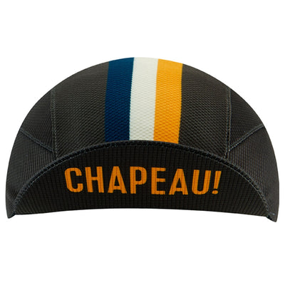 Chapeau! Lightweight Cap Club Stripe - Storm Grey