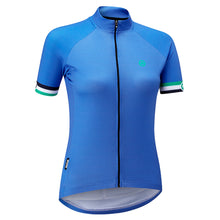 Load image into Gallery viewer, Chapeau! Ladies Club Jersey Logo - Cerulean Blue | VeloVixen