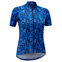 Load image into Gallery viewer, Chapeau! Ladies Club Jersey Pattern - Cerulean Blue | VeloVixen
