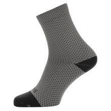 Load image into Gallery viewer, Gore C3 Dot Mid Socks - Graphite Grey/Black | VeloVixen