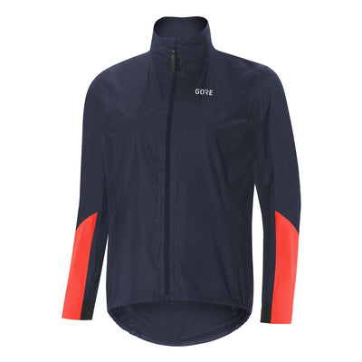 Gore C7 GORE-TEX® Shakedry Viz Jacket - Storm Blue/Lumi Orange