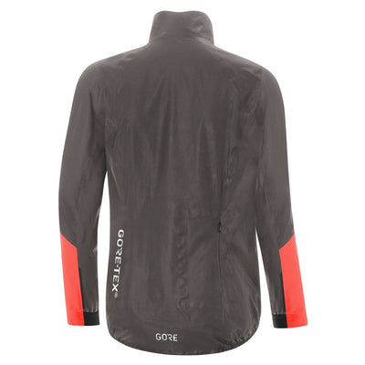 Gore C7 GORE-TEX® Shakedry Viz Jacket - Lava Grey/Lumi Orange