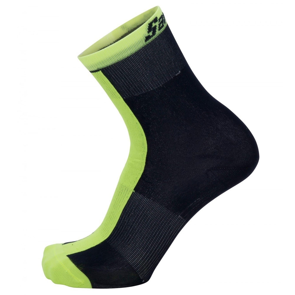 Santini Origine Primaloft Winter Socks - Yellow | VeloVixen