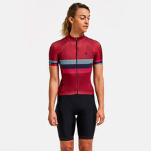 Load image into Gallery viewer, Chapeau! Club Stripe Jersey - Devon Red