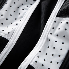 Load image into Gallery viewer, Chapeau! Soulor Bibshorts - Black/White Polka