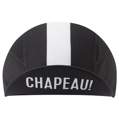 Chapeau! Lightweight Cap Central Stripe - Black