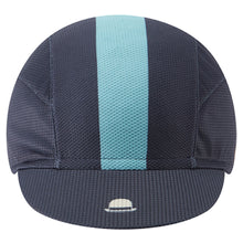 Load image into Gallery viewer, Chapeau! Lightweight Cap Central Stripe - Deep Ocean | VeloVixen
