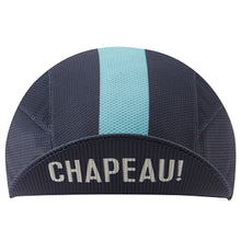 Load image into Gallery viewer, Chapeau! Lightweight Cap Central Stripe - Deep Ocean