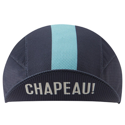 Chapeau! Lightweight Cap Central Stripe - Deep Ocean