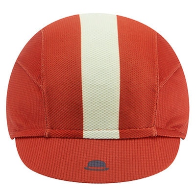 Chapeau! Lightweight Cap Central Stripe - Devon Red