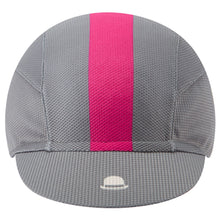 Load image into Gallery viewer, Chapeau! Lightweight Cap Central Stripe - Flint Grey | VeloVixen