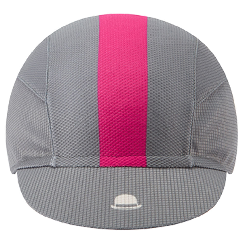 Chapeau! Lightweight Cap Central Stripe - Flint Grey | VeloVixen